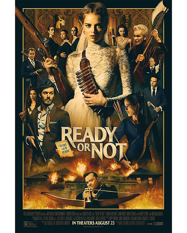 "Movie Review: ""Ready Or Not"" Was Unpredictable & Thrilling"