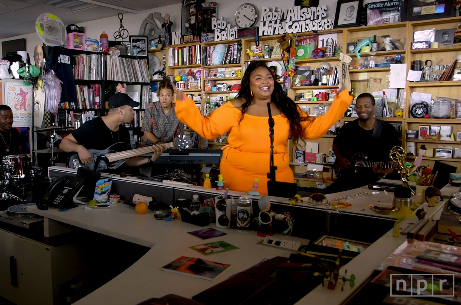 Watch Lizzo On NPR Music Tiny Desk For This One Reason
