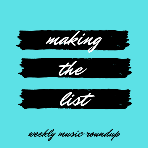 1/4 Weekly Music Roundup