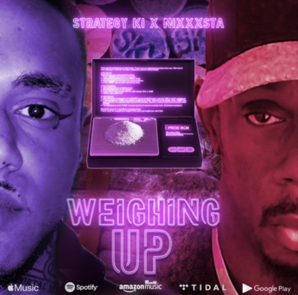 "Strategy Ki – ""Weighing Up"" ft. Nixxxta"