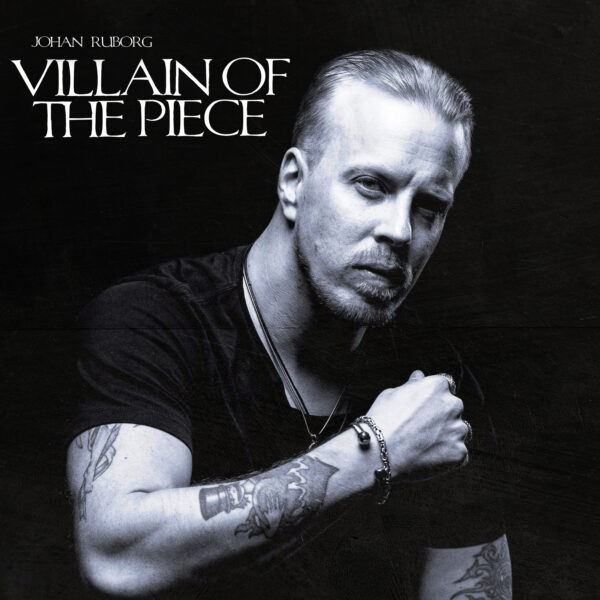 "Ruborg Authentically Shares His Love For Roots Rock In ""Villain of the Piece"" This October 1st"