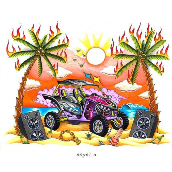 "Puerto Rico's Promising Lo-Fi Rapper & Producer ENYEL C Releases ""Polaris"" Off Upcoming Album"