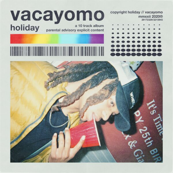 "Holiday Releases Dark, Soothing, & Melancholic R&B Album ""Vacayomo"""