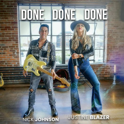 "Interview: Nick Johnson & Justine Blazer Discuss ""Done Done Done"" Coming This Friday"