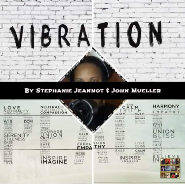 "Stephanie Jeannot & John Mueller – ""Vibrations of Peace"""