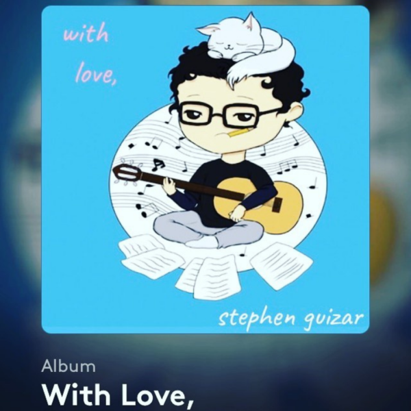 """Introducing: Singer-Songwriter Stephen Guizar Releases Comforting Collection Of Creative Elements In New """"With Love"""" Album"""